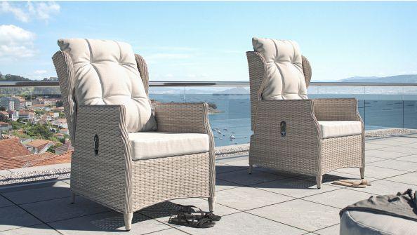 Bariya - coppia di sedie