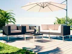 Alivera S - Isola prendisole per terrazza