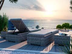 Ely L - Isola prendisole per terrazza