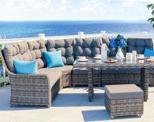 Emma Dining - Isola prendisole per terrazza