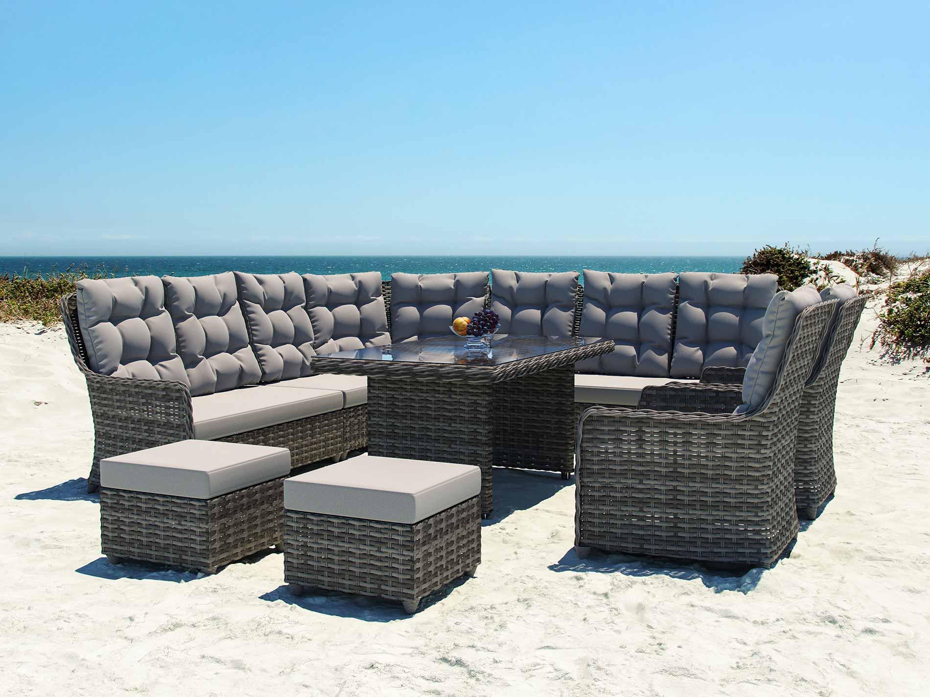 artelia salotto da giardino emma dining m. Black Bedroom Furniture Sets. Home Design Ideas