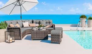 Enigma Lounge - Isola prendisole per terrazza