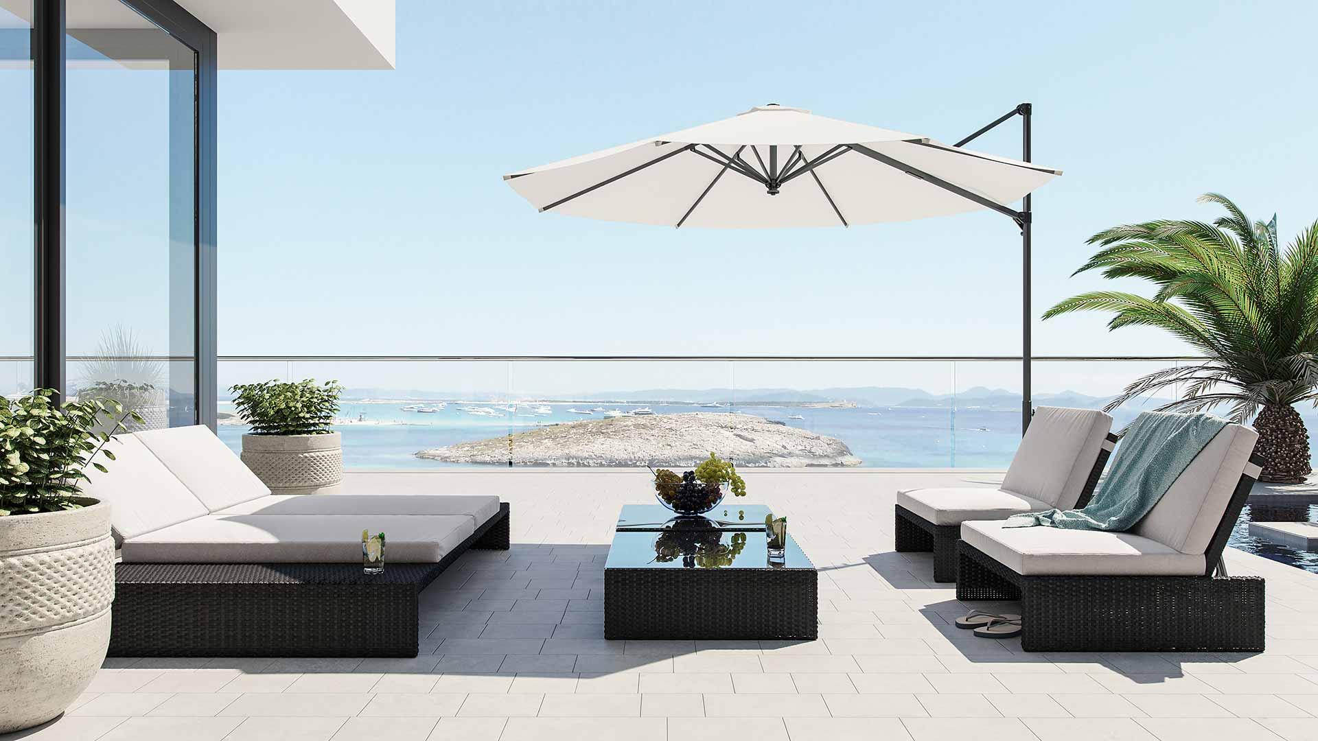 Artelia salotto chaise lounge estoria - Mobili da esterno in rattan ...