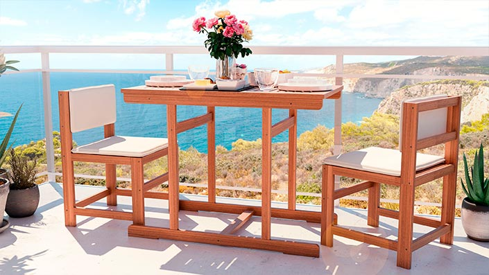 McNulty - Mobili per balcone