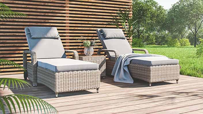 artelia mobili in rattan sintetico da giardino. Black Bedroom Furniture Sets. Home Design Ideas